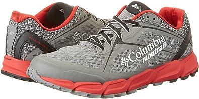 Columbia BM4571, Zapatillas de Running Hombre, Multicolor (Charcoal/Bright Red), 46 EU: Amazon.es: Zapatos y complementos