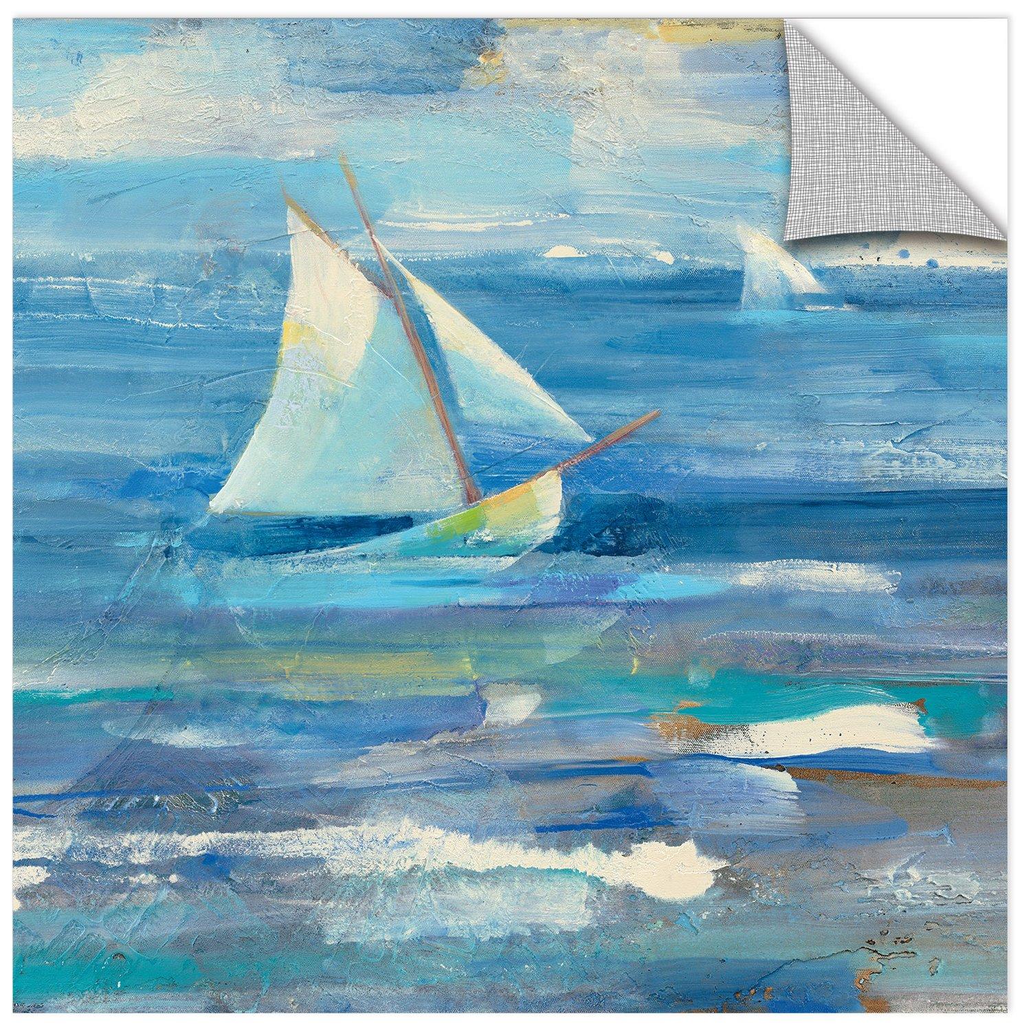 36 x 36 ArtWall Albena Hristovas Ocean Sail Removable Wall Art Mural