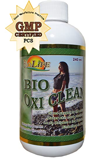 Green Oxygen and Chlorophyll 240ml 100% Natural Detoxifies and Your Body, Is Diuretic Try