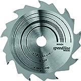 Bosch Zubehör 2608640774 Kreissägeblatt Speedline Wood 130 x 16 x 2,2 mm, 9
