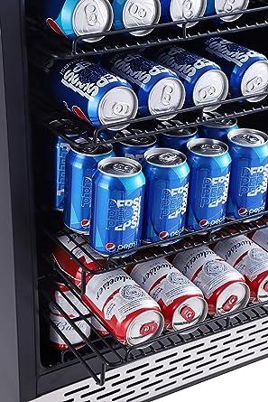 Phiestina refrigerador de bebidas de 24 pulgadas - 175 latas ...