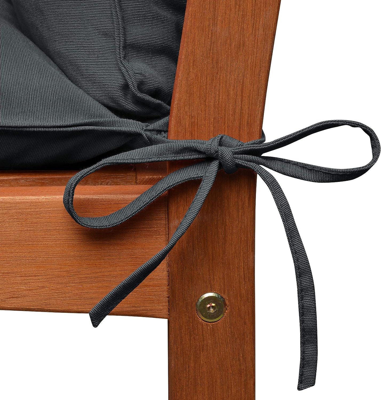 cuscino da giardino per panca da 2 a 3 posti cuscino per sedia a dondolo imbottito per panca in legno impermeabile Lingrui lavabile