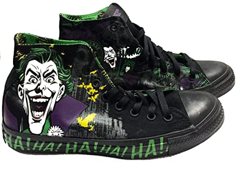 0a220e5ea21c Converse Chuck Taylor Vintage The Joker All Star Unisex DC Comic Shoes (9  Mens US