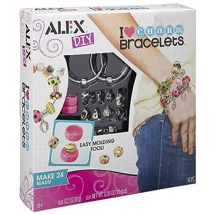 Amazon alex toys diy wear i heart charm bracelets toys games alex toys diy wear i heart charm bracelets solutioingenieria Images