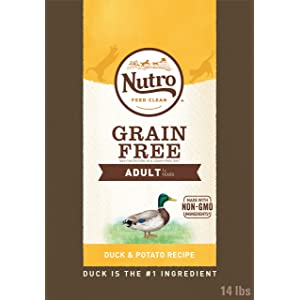 Nutro Grain-Free Adult Dry Cat Food Bag