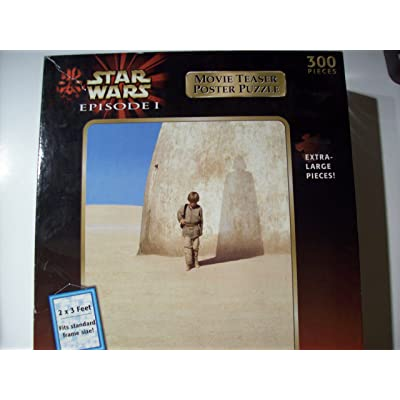 Star Wars Episode 1 Movie Teaser Poster Puzzle (300 Pieces_: Toys & Games