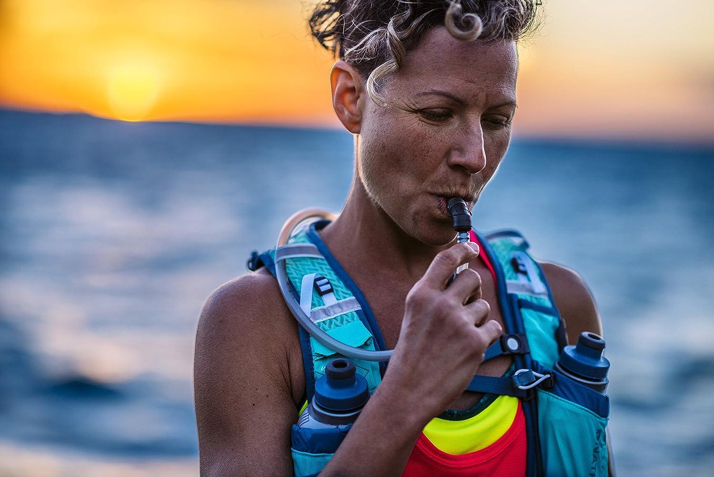 Nathan Vapour Airess - Mochila de hidratación para Running, Color Rosa, Talla Small/Medium/31-36-Inch: Amazon.es: Deportes y aire libre