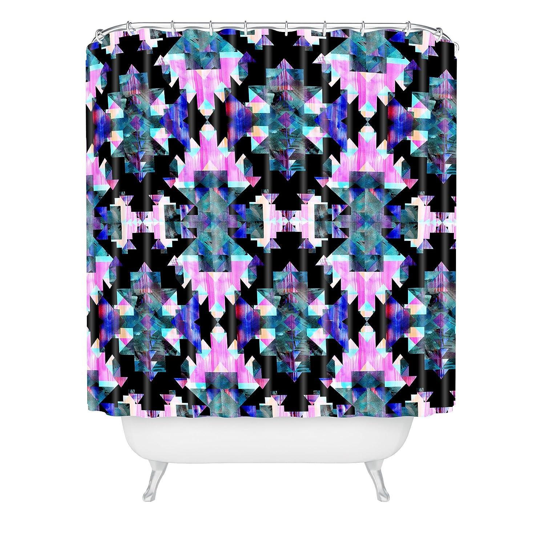 69 x 90 69 x 90 61034-shocul Deny Designs Schatzi Brown Gem D Shower Curtain