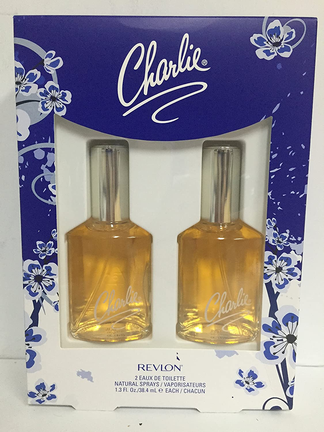 B0006VVNTA Revlon Charlie Original Perfume Fragrance By Revlon - Spray Bottle Set (2 x 1.3 Ounce) 91xmfEsZyRL._SL1500_