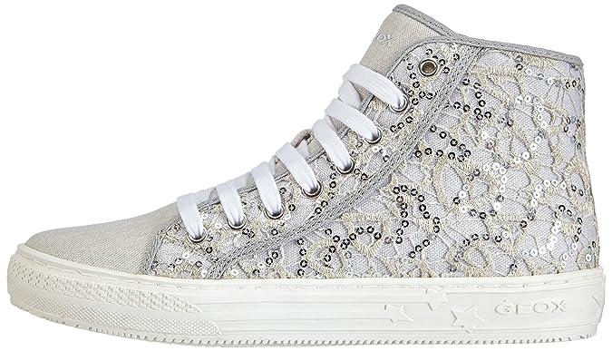 Geox J HIGHROCK GIRL Mädchen Hohe Sneakers