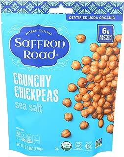 product image for Saffron Road Organic Crunchy Chickpeas, Non-GMO, Gluten-Free, Halal, Sea Salt, 6 Ounce