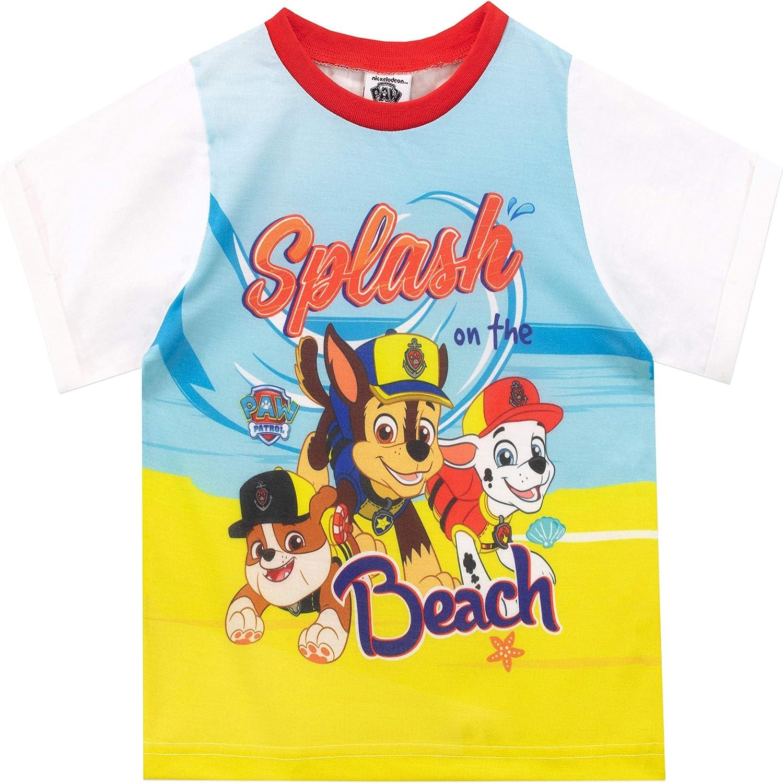 Nickelodeon Paw Patrol Chase /& Marshall Pigiama Bambino