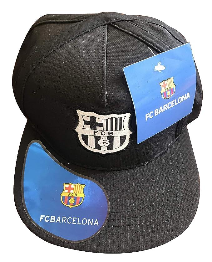 FCB Gorra Plana del FC Barcelona: Amazon.es: Deportes y aire libre