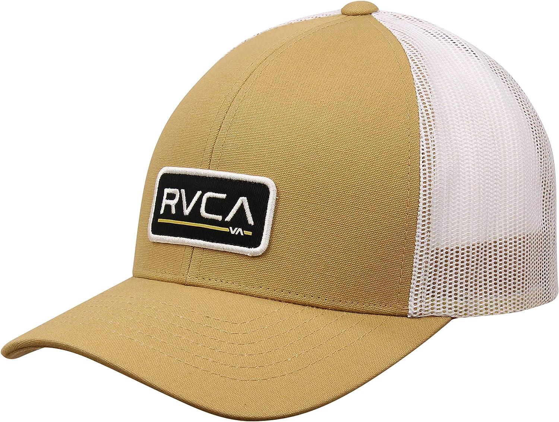 RVCA Mens Ticket Trucker Hat