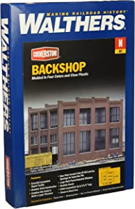Walthers, Inc. Back Shop Kit, 7 x 5-1/4 17.7 X 13.3 X 13.3cm