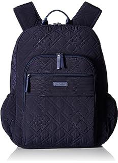 Amazon.com  Vera Bradley Iconic Campus Backpack f66b80907d37e