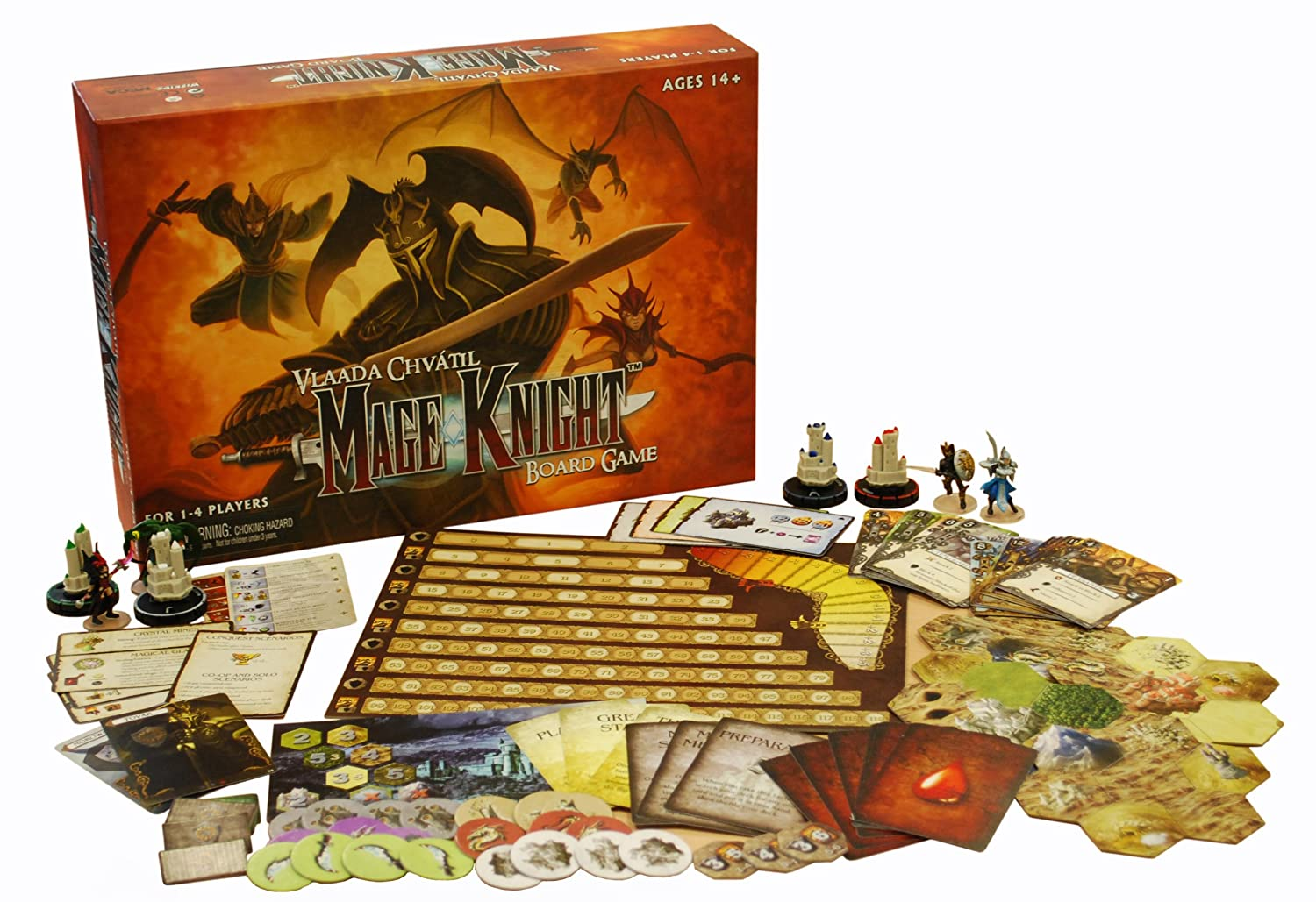 best solo board games with miniatures