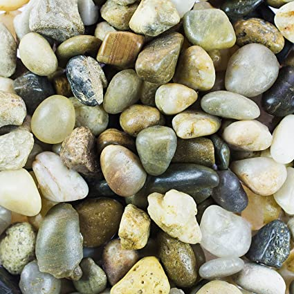 Exceptionnel Mini Assorted Garden Beach Stone Rocks Pebbles Aquarium Lake Collection For  Outdoor U0026 Indoor Home Garden