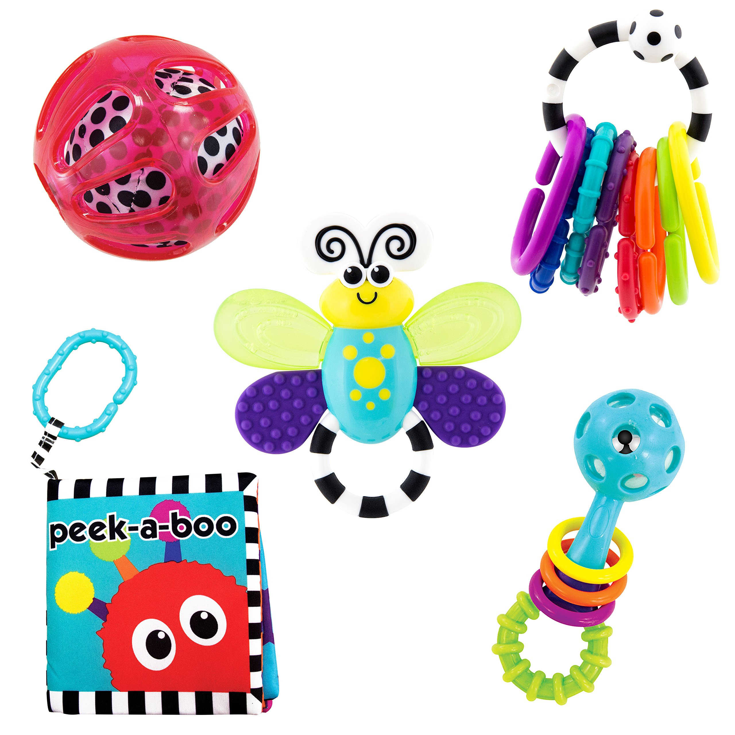 Sassy Baby's First Developmental Toy Gift Set