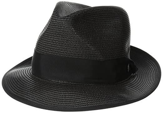 79ca0c9dc18bf1 Stetson Men's Latte Florentine Milan Straw Hat at Amazon Men's Clothing  store: