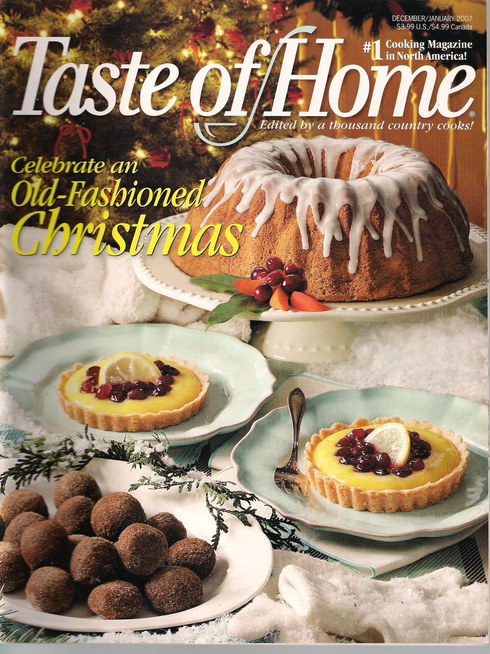 Download Taste of Home Magazine, December/January 2007 ebook