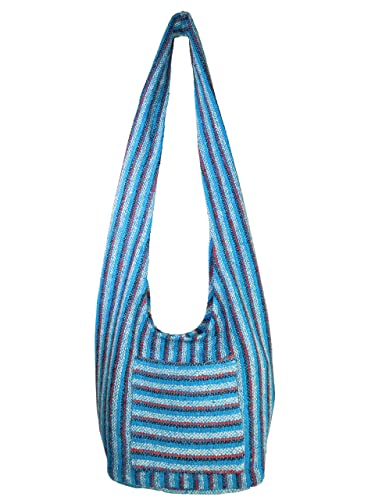 Hippie Bag Cross-Body Baja Sling Bag in Classic Baja Jacket Fabric ...