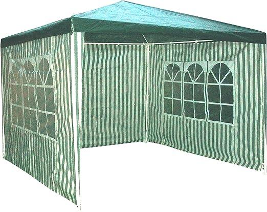 Redstone 3m x 3m Carpa con 4 Paredes Laterales Tienda Pabellón Gazebo Cenador Pérgola: Amazon.es: Jardín