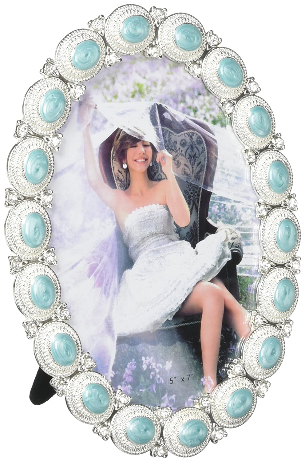 SS-KHD-10016936 Eastwind Gifts 10016936 5 x 7 Sea Cabochon Photo Frame Tom /& Co