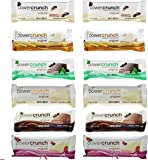 Power Crunch High Protein Energy Snack1.4-Ounce Bars (Pack of 12), Variety Pack of 7 Delicious Flavors