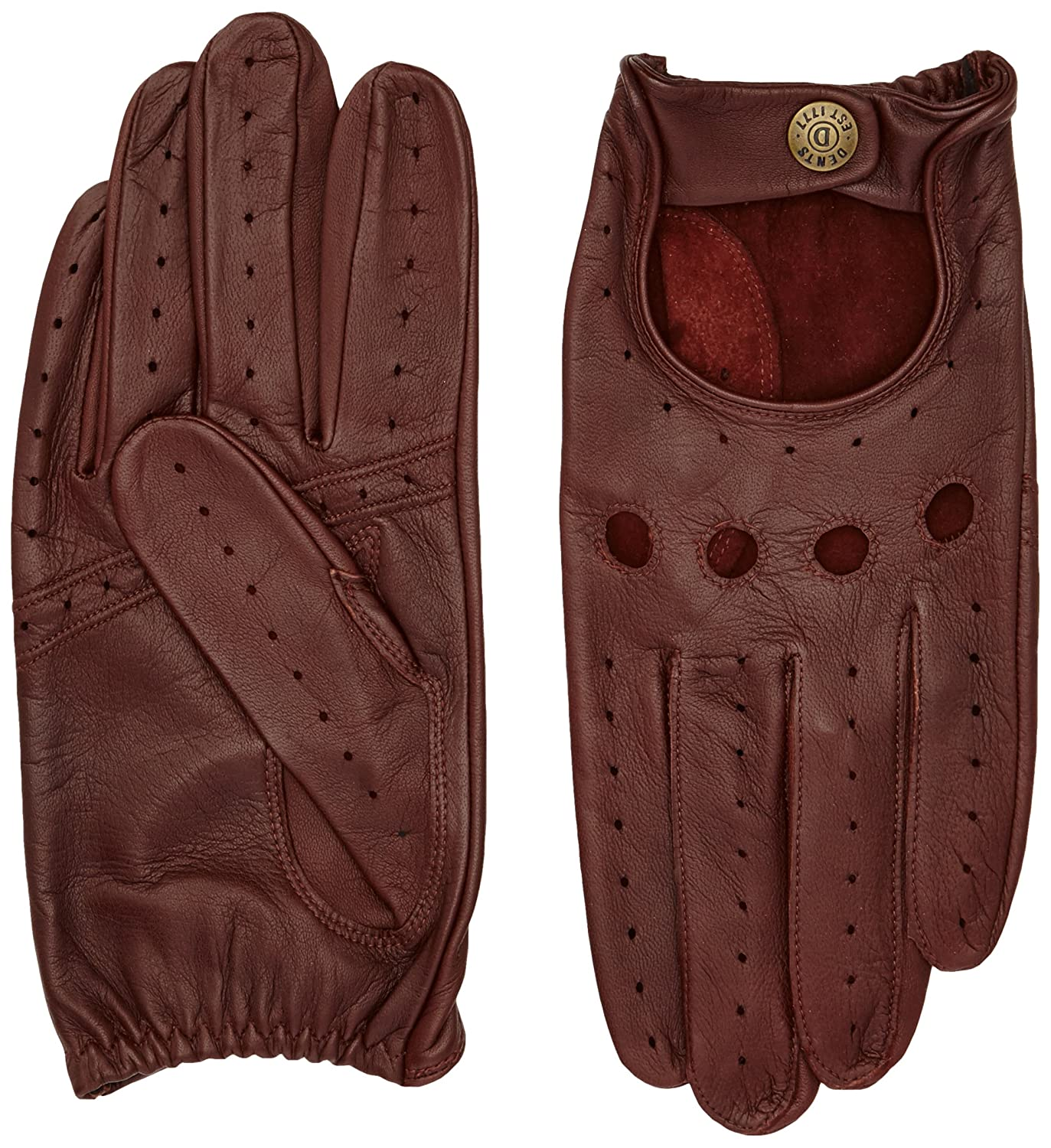 DENTS Leather Driving Gloves 5-1011 - English Tan - Small
