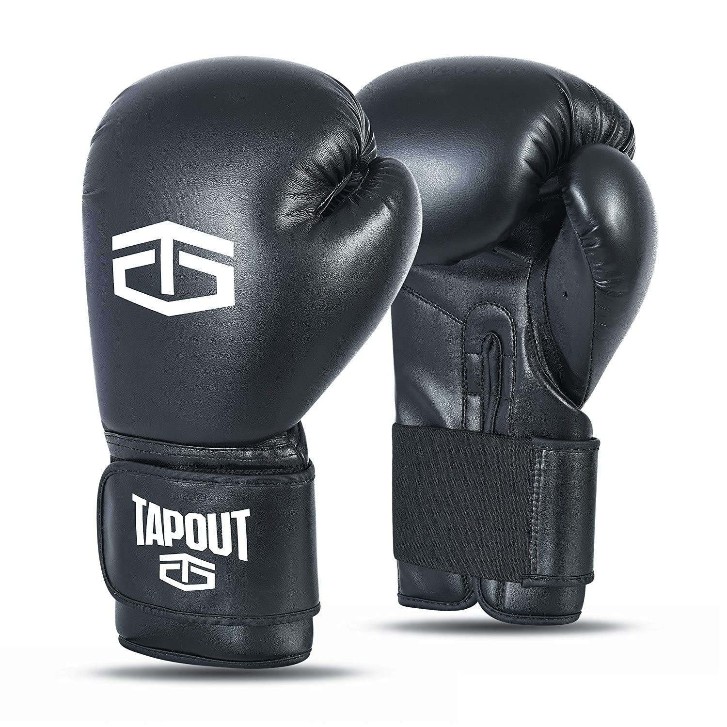 Tapout Gants Boxe Homme Dura-Leather PU Training Sparring Classic