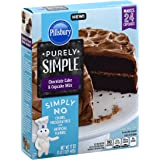 Pillsbury Purely Simple Chocolate Cake Mix, 17 oz