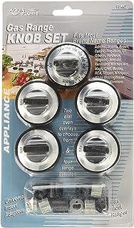 stove knobs. AquaPlumb RKG Not Applicable Gas Range Knob- 5PC/Card Stove Knobs