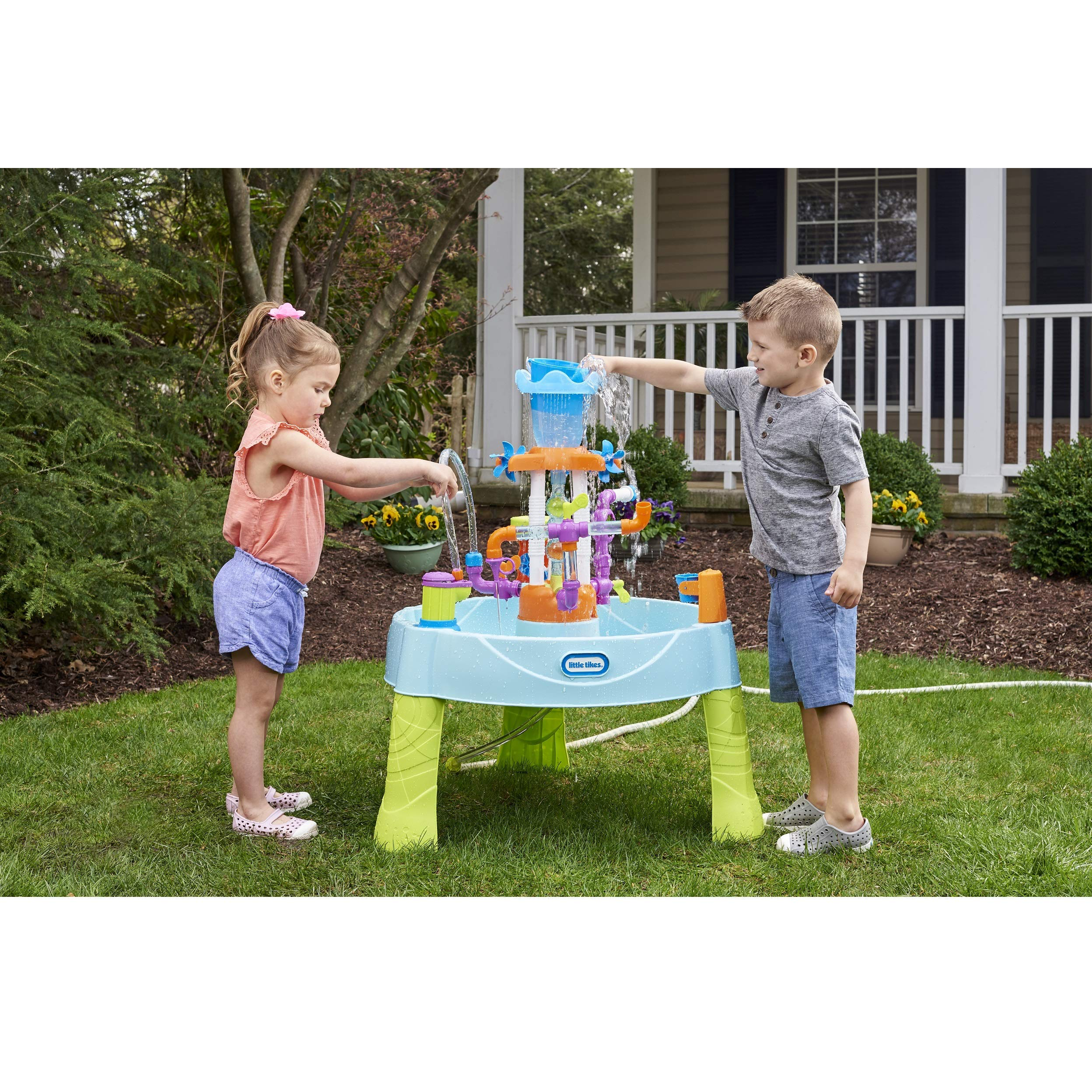 Little Tikes Flowin' Fun Water Table with 13 Interchangeable Pipes (Renewed) by Little Tikes (Image #4)