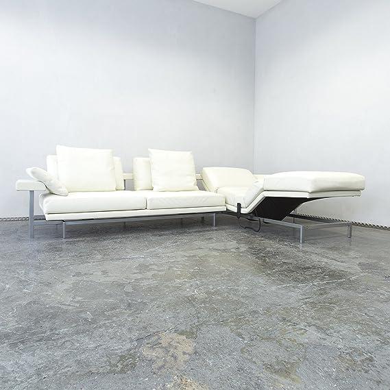 Tres Puntos D160 Living Comfort - Rinconera piel color crema ...