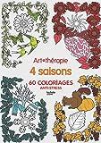 Les 4 saisons: 60 coloriages anti-stress