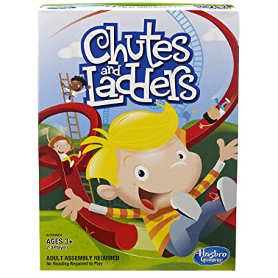 Hasbro Chutes and Ladders: Kids Board Game Hasbro A4756: Toys & Games