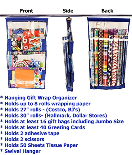 Amazon wrapaway store organize holiday gift wrap wrapping wrapaway store organize holiday gift wrap wrapping paper easily and m4hsunfo