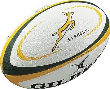 Gilbert Sudáfrica réplica balón de Rugby: Amazon.es: Deportes y ...