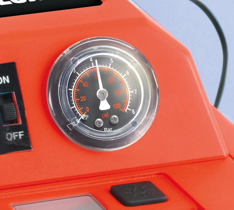 Compressore dAria 120 PSI// 8,27 Bar Nero Black+Decker BD 0190104 450 AMP Avviatore di Emergenza Ah