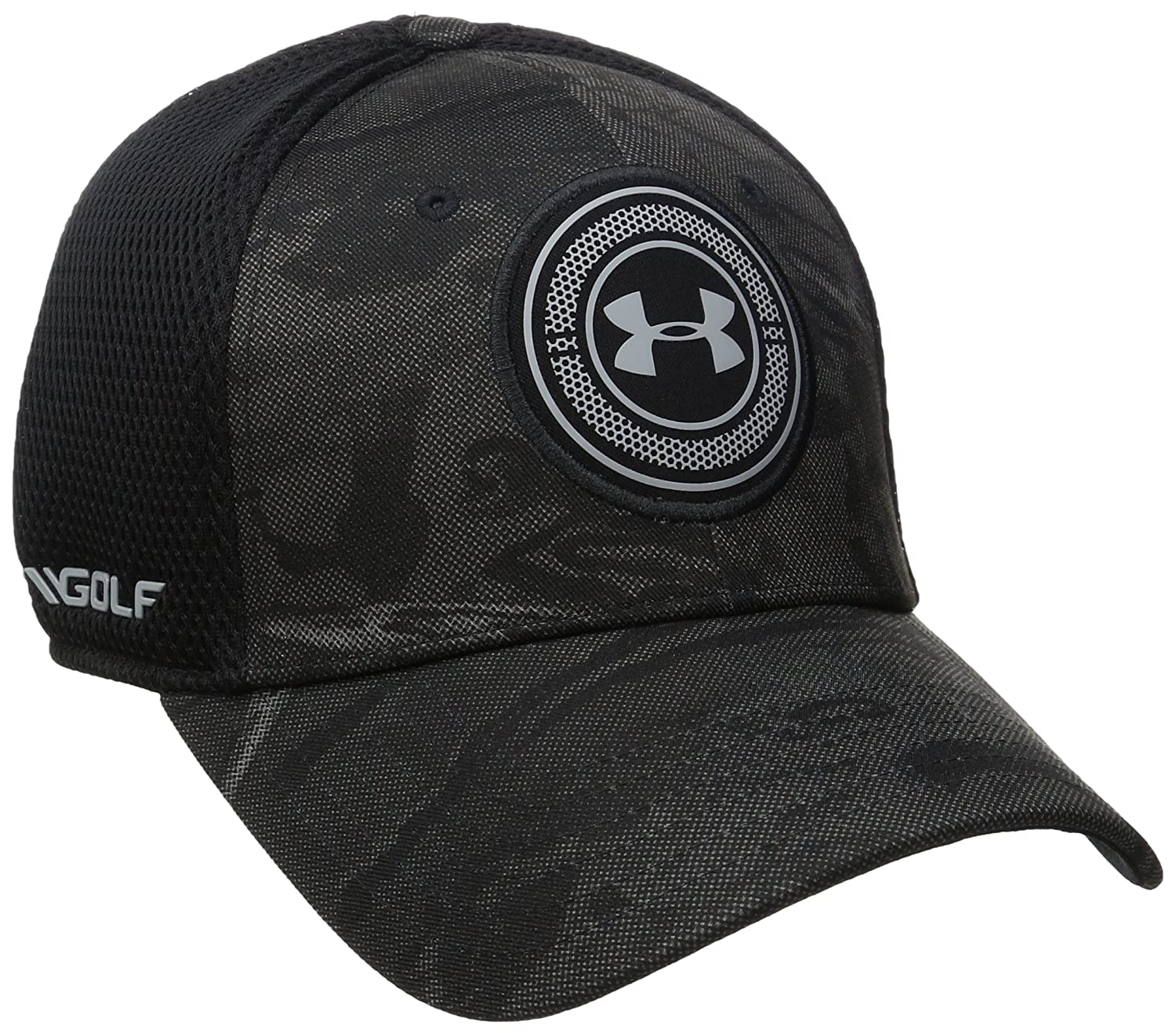 the latest bce19 1bbbf Under Armour Men s Golf Eagle Cap 4.0, Black (002), Medium Large, Caps -  Amazon Canada