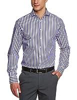 Jacques Britt Herren Businesshemd Regular Fit, gestreift 20.756150-82