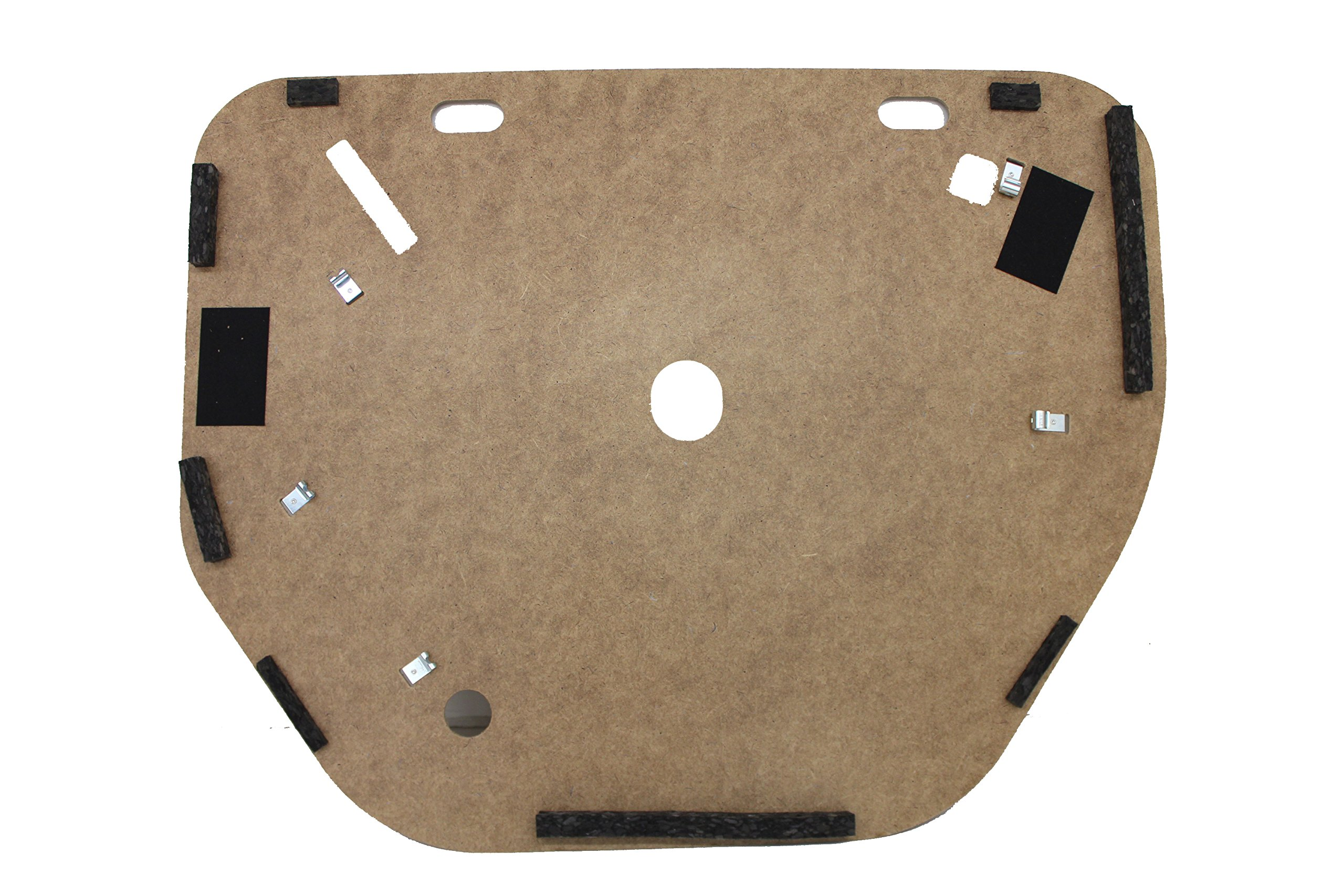 Genuine Toyota 64770-07030 Spare Wheel Cover Assembly