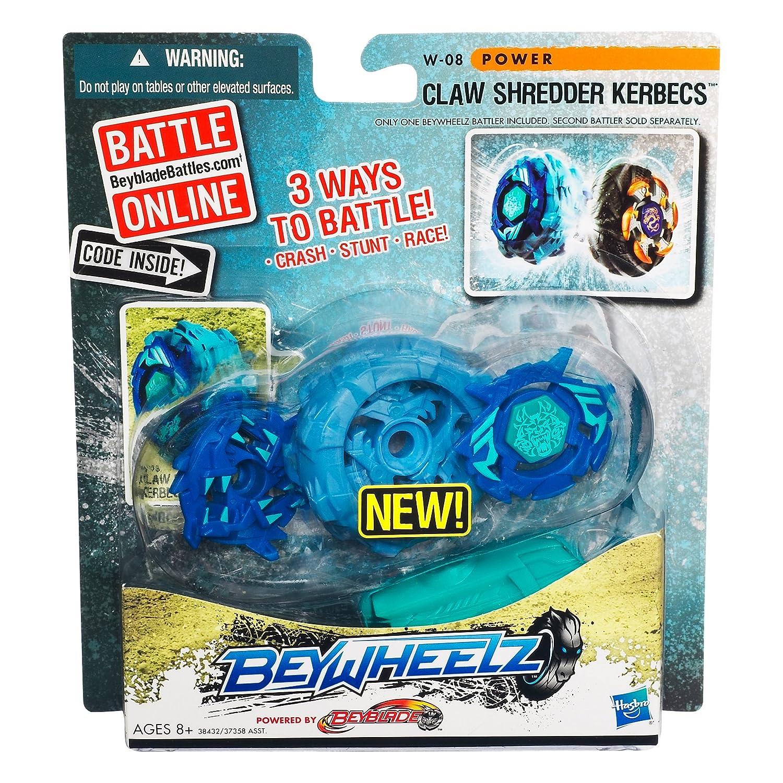 Amazon.com: Beyblade Beywheelz Battler W-08 garra Shredder ...