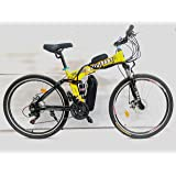 Pedalease Military Electric bicycle ( yellow)