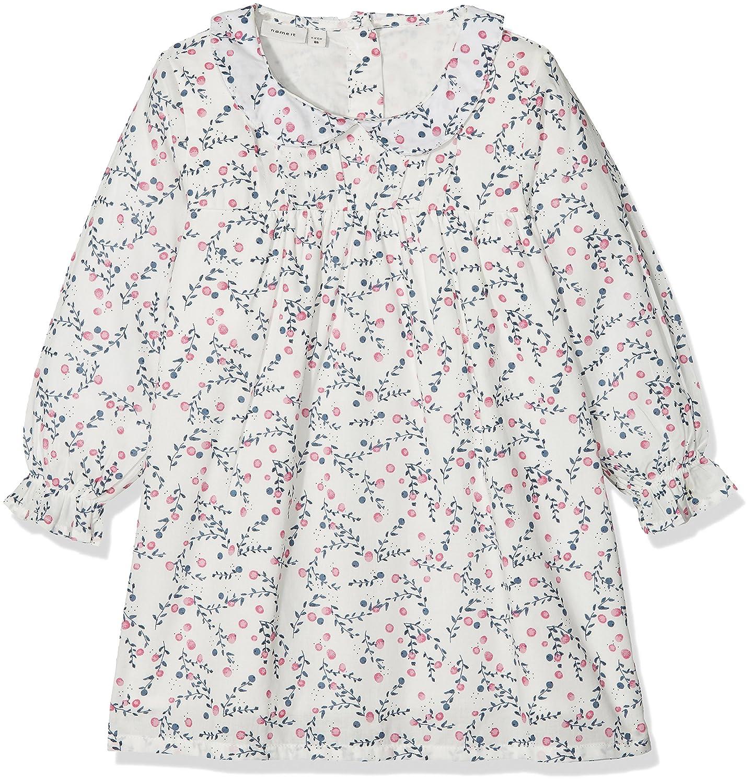 NAME IT Baby-Mädchen Kleid Nbfersol Ls Dress 13150113