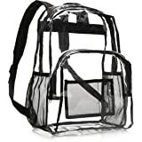 Amazon Basics School Backpack - Clear