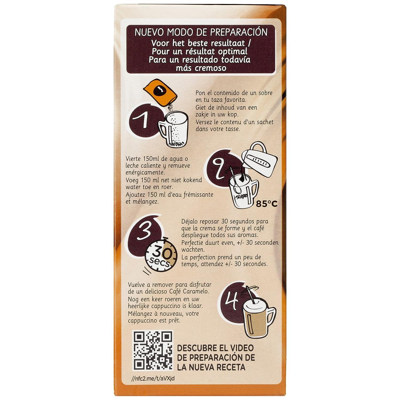 NESCAFÉ Caramelo - Café soluble - 6 Paquetes de 8 Sobres de Café - Total: 48 Sobres: Amazon.es: Alimentación y bebidas