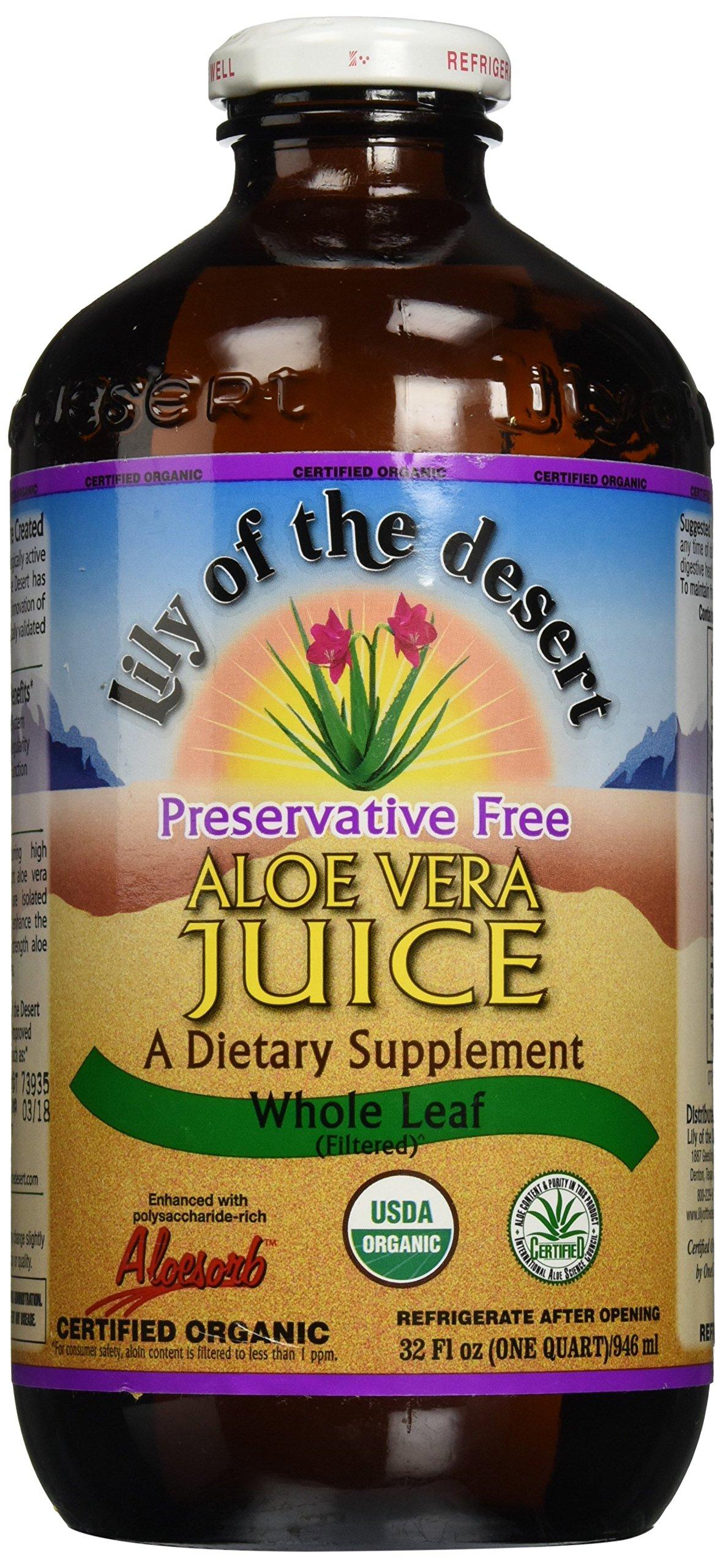 Lily Of The Desert Juice Aloe Vera Pf Whl Lea (32 ounces) (1)