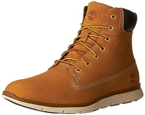 48e7e3a0527 trigo TIMBERLAND A17M9 las mujeres amarillas amarillo zapatos botas de  cuero impermeables  Amazon.es  Zapatos y complementos